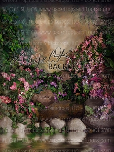 Secret Garden 2 - 60x80 (Vertical Design)