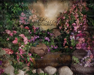 Secret Garden - 8x10 Polyester (Horizontal Design)