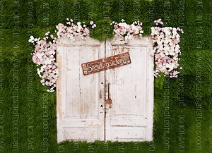 Shabby Doors 8 (Horizontal Design)