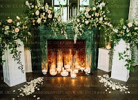 Shabby Fireplace 6 (Horizontal Design)