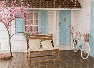 Spring Porch 1 (Horizontal Design)