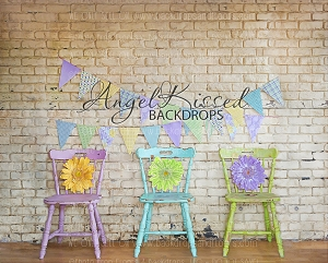 Pastel Chairs - 10x8 (Horizontal Design)