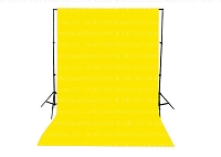 Sunshine Solid Color Seamless Matte Finish Fabric Photography Backdrop