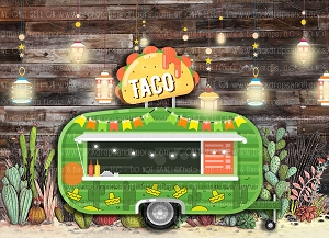 Taco Smash 4 (Horizontal Design)