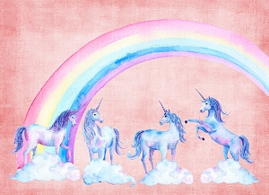 Unicorns 7 (Horizontal Design)