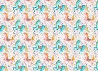Unicorns 8 (Horizontal Design)