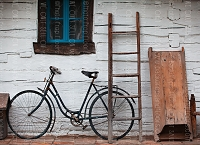 Vintage Bicycles 5 (Horizontal Design)