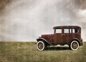 Vintage Car 3 (Horizontal Design)