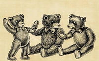 Vintage Teddy Bears 1