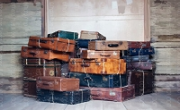 Vintage Suitcases 7 (Horizontal Design)