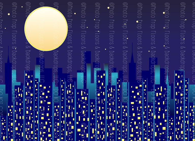 Cityscape 16 (Horizontal Design)