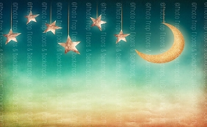 Moon and Stars 3 (Horizontal Design)