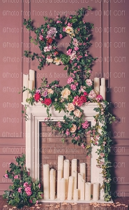 Shabby Fireplace 1