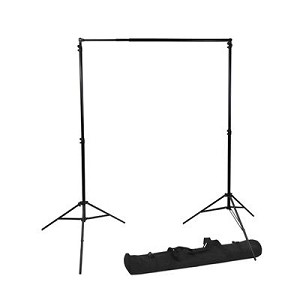 "Backdrop Stand with Carrying Case - 8.5"" x 10FT"