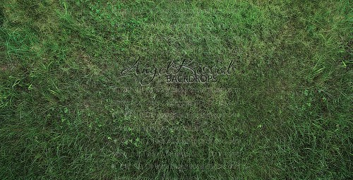 Bright Green Grass - 4x8 (Floormat with Non-Slip Backing)