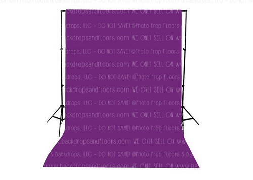 Dark Grape Solid Color Seamless Matte Finish Fabric Photography Backdrop