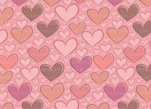 Hearts 126 (Horizontal Design)