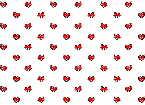 Hearts 198 (Horizontal Design)