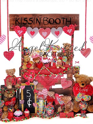Kissin Booth 1 - 60x80 (Vertical Design)