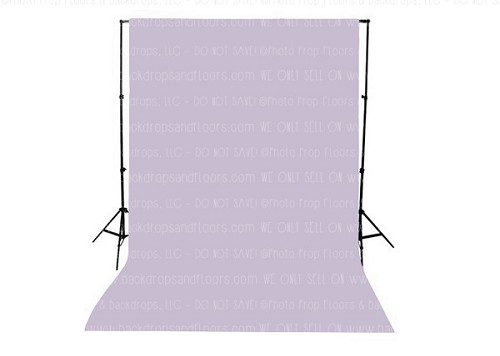 Lilac Purple Solid Color Seamless Matte Finish Fabric Photography Backdrop