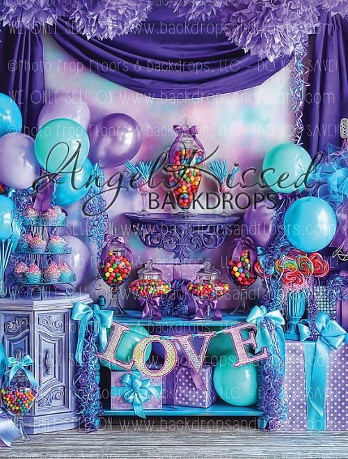 Pretty Purple Princess 1 - 60x80 (Vertical Design)