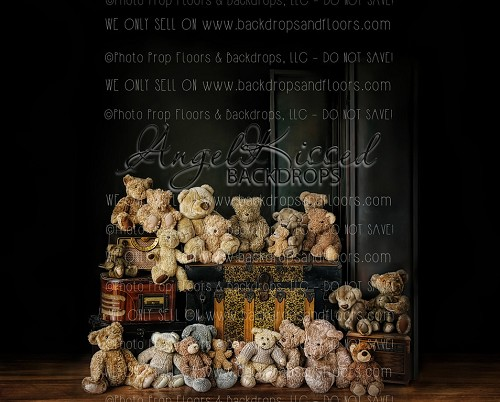 Teddies n Trunks 1 - 8x10 Polyester (Horizontal Design)