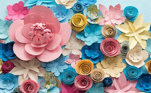 Paper Flowers 6