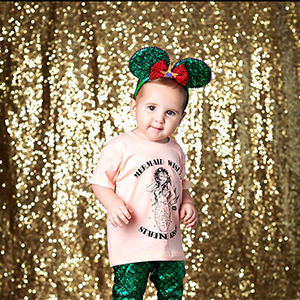 Sequin Fabric Backdrops