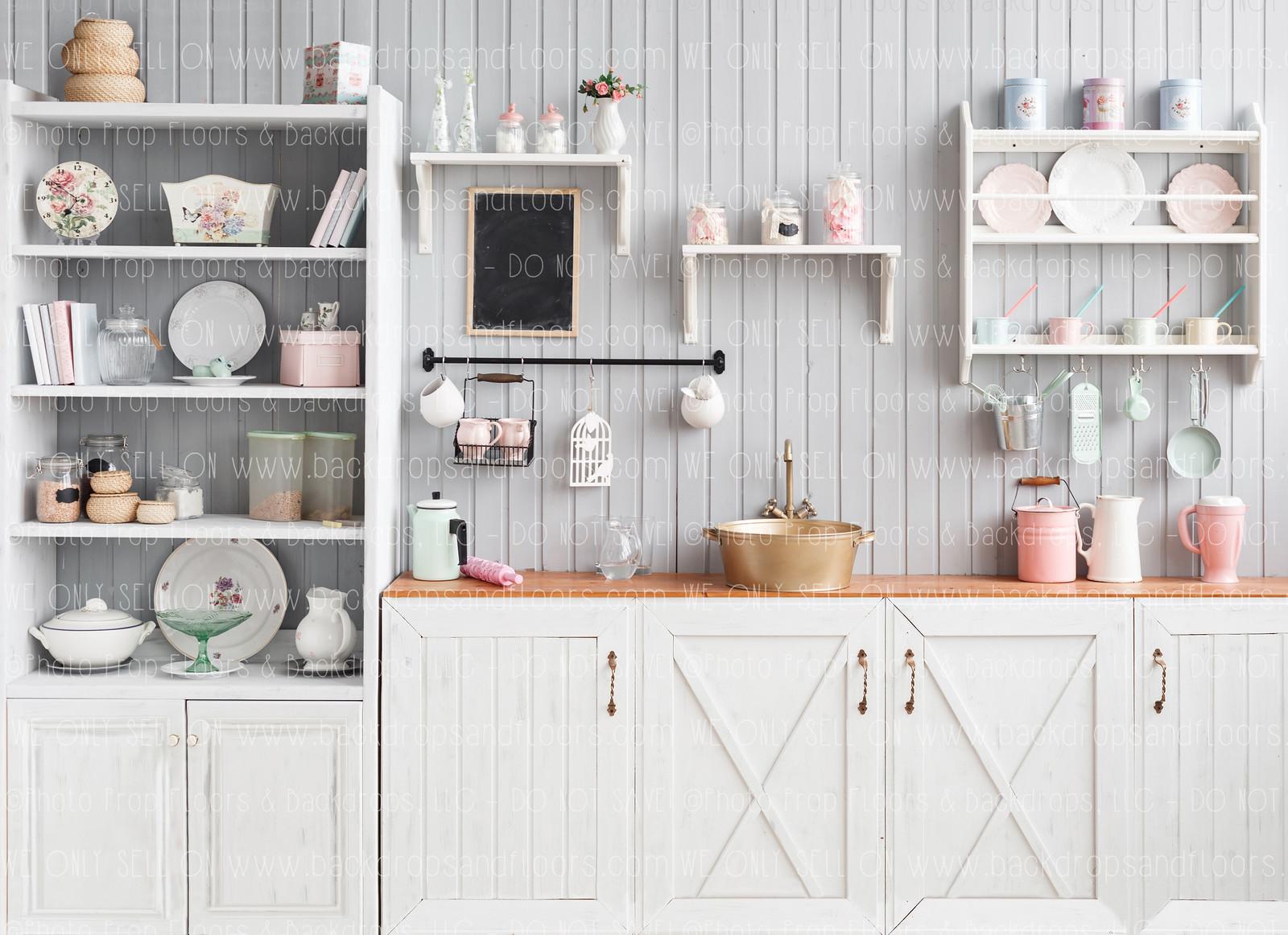 Valentine S Day Kitchen Or Easter Kitchen Backdrop