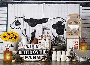 Better on the Farm 2 (Horizontal Design)