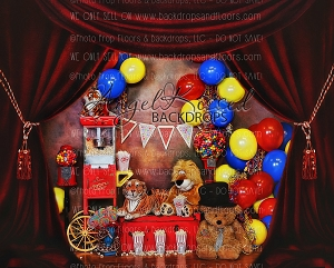 Circus Time 1 - 10x8 (Horizontal Design)