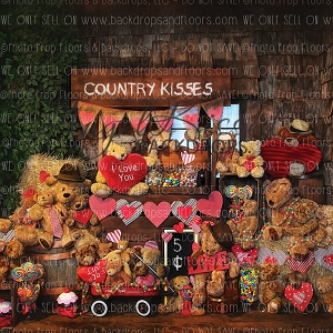Country Kisses 2 - 8x8