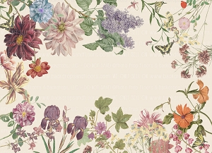 Painterly Vintage Botanica