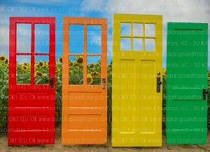 Doors to the Sun (Horizontal Design)