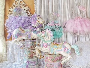Equestrian Princess 1 - 80x60  (Horizontal Design)