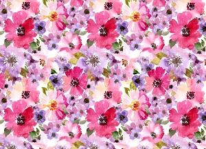 Floral 412 (Horizontal Design)