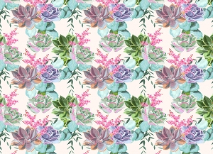 Floral 4 (Horizontal Design)