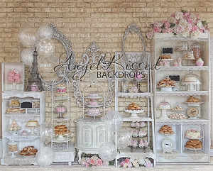 French Pastry 1 - 10x8 (Horizontal Design)