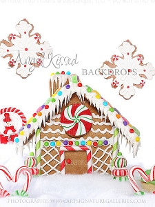 Gingerbread Love 3 - 60x80  (Vertical Design)