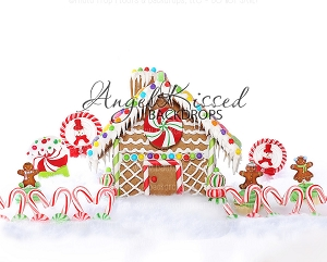 Gingerbread Love 1 - 10x8 (Horizontal Design)