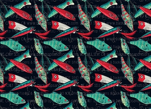 Gone Fishin 13 (Horizontal Design)