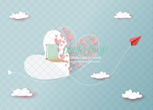 2021 NEW RELEASE:  Hearts in the Sky 1 (Horizontal Design)