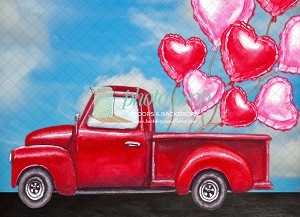 Love Truck 3 (Horizontal Design)