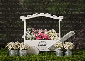 Spring Flower Market 1 (Horizontal Design)