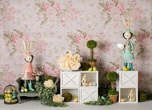 Shabby Chic Easter 1 (Horizontal Design)