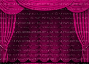 Stage Curtain 4 (Horizontal Design)