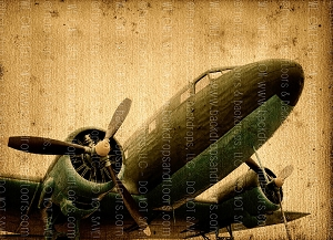 Vintage Airplanes 3 (Horizontal Design)