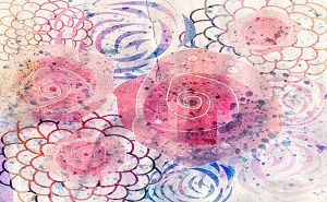 Water Color Flowers 14