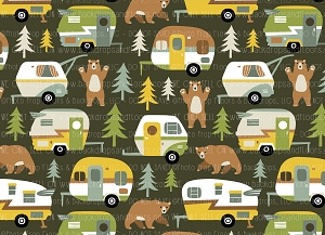 Camping 8 (Horizontal Design)