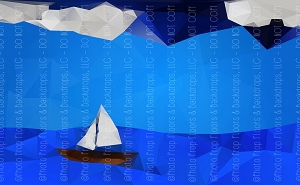 Sailing 3 (Horizontal Design)